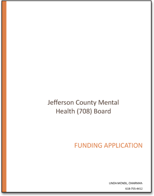 Jefferson County 708 Mental Health Board Jefferson County Illinois