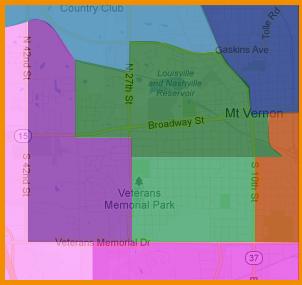 District Map Jefferson County Illinois